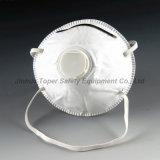 Approvazione N95 la maggior parte del tipo popolare mascherina della tazza di polvere a gettare