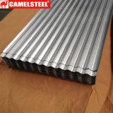 Strato ondulato di profilo del tetto dello zinco