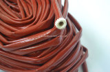 Thermischer Fiberglas-Schlauch-schützende feuerbeständige Isolierungs-Hülse