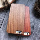 Het natuurlijke Geval van de Telefoon van Pecannoten Houten voor de Mobiele Dekking van iPhone 6/6s