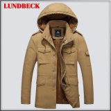 人の冬の上着類の衣服のための方法ジャケット