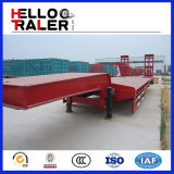 Tri reboque vendido popular do eixo 60ton Lowboy
