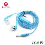 스포츠 이동 전화를 위한 입체 음향 Earbuds 3.5mm 타전된 이어폰