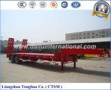 Fabrikant Op zwaar werk berekende Lowboy/de Lage Aanhangwagen van de Vrachtwagen van het Bed