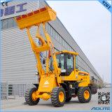 De Chinese Lader van het Wiel van de Lader van het Wiel van de Tractor van de Tuin Kleine voor Verkoop