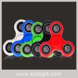Premiers jouets de vente de décompression de compas gyroscopique de bouts du doigt de Trois-Lame de fileur de personne remuante d'Amerian
