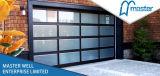 Residencial Automatizado Espejo de vidrio Puertas de Garaje Fabricante