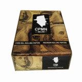 Cono del papel de balanceo del tabaquismo de $100 Bill