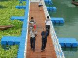 Puente pontón de flotación del HDPE