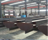 低価格の熱い浸された電流を通された重い鉄骨構造の鋼鉄コラム(QDWF-008)