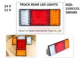 Le parti del camion per gli indicatori luminosi posteriori del LED, le lampade dell'estremità del camion, LED illumina il formato per il camion