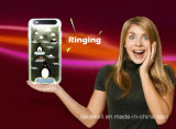 Caixa clara instantânea do diodo emissor de luz do acessório barato TPU do telefone móvel para o caso da tampa do telefone móvel do iPhone 5/6/6s