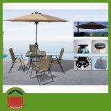 De post Zij Gebruikte Paraplu van de Tuin voor openlucht