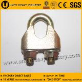 Clip 1142 de câble métallique de fonte malléable DIN Galv