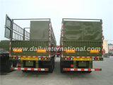 3-as de Rechte Staak van de Straal/de Semi Aanhangwagen van de Omheining met twee-Rijen in Groen