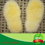 Sottopiedi antibatterici della pelle di pecora