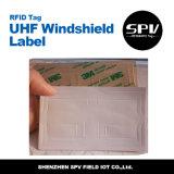 A freqüência ultraelevada do pára-brisa etiqueta RFID