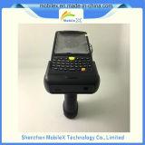 Lector de RFID portátil, escáner de código de barras inalámbrico, equipo móvil