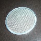 Acero de Ss/Carbon/cobre/disco negro del filtro de paño de alambre para el tratamiento del agua y del petróleo