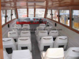 Aqualand 28feet 8.6m Fiberglass Water Taxi Ferry Boat 또는 Passenger Motor Boat (860)