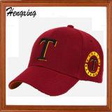 100%年の綿のCostomの刺繍の野球帽