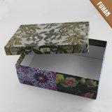 Embalaje de la caja de alimentación de papel a todo color Cuboide fábrica