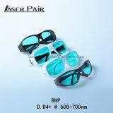 óculos de proteção de segurança para o equipamento médico do laser, sistemas do laser do laser do rubi 694nm do laser da beleza com estilo do esporte