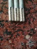 CNC Hulpmiddel van het Malen van het Eind van de Diamant van de Hulpmiddelen van de Steen het Solderende Snijdende