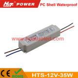 12V2.9A 플라스틱 LED 전력 공급 또는 램프 또는 유연한 지구 방수 IP67