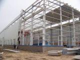 Edificio ligero prefabricado del taller y del almacén de la estructura de acero