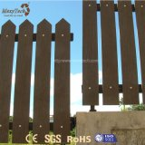 Zusammengesetzter Zaun des im Freiensicherheits-zusammenklappbarer Aluminium-WPC für Garten