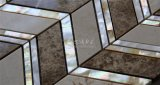 Nuevo mosaico de agua dulce del shell y del mármol