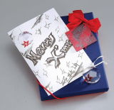 Роскошные изготовленный на заказ Handmade бумажное венчание/приветствие/приглашение чешут печатание