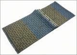 冬の暖かい点検されたダイヤモンドの印刷の厚く編まれた編まれたスカーフ(SP808)のような人の可逆カシミヤ織