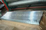 Azulejo de material para techos de acero galvanizado acanalado de la buena calidad para Angola