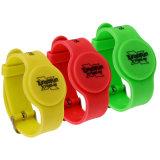 Bracelet utilisé généralement d'attache de silicones d'IDENTIFICATION RF pour le paiement automatique du supermarché