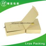 Rectángulo de empaquetado modificado para requisitos particulares del regalo del papel de la cartulina de la insignia