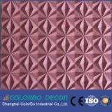 Los paneles de pared de cuero aprobados del MDF 3D del Ce para la decoración de la pared
