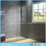Tela de chuveiro de vidro simples com preço barato (9-3410-C)