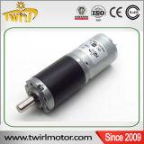 1 motor del engranaje de reducción de la C.C. de la alta precisión 25m m de Rmp