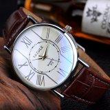 El reloj de los pares de la manera de H312 Yazole para los hombres y las mujeres impermeabilizan el reloj