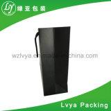 Papierkraftpapier-Beutel mit flacher Farbband-Griff kundenspezifischem Beutel