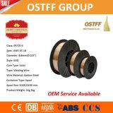"0.6mm (0.023 "") Plastikschweißens-Draht der spulen-D200 China MIG (ER70S-6)"
