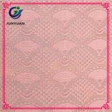 Tessuto africano di nylon 2017 del merletto del cavo del cotone