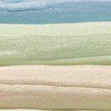 Tela do jacquard da tela do fio da tela do poliéster para a matéria têxtil da HOME do vestuário das crianças da saia do vestido da mulher