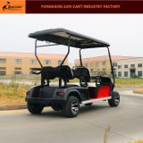 Тележка гольфа пассажира хорошего качества 4 электрическая для поля для гольфа и клуба