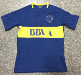 Boca 17/18 연소한 가정 파란 축구 제복