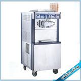 Doppia macchina del gelato della gelata di turbinio del sistema di raffreddamento