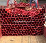 Tubo de acero de la bomba Pipe/Dn100 de la capa de la bomba gemela del tubo