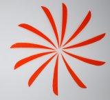 Pena de Parabol Fletching do direita de 5 polegadas com cor diferente